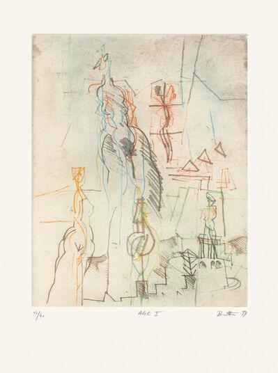 """Karl Brandstätter: Bild """"Akt I"""" (1994), ungerahmt"""