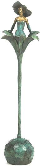 """Marc van Megen: Skulptur """"Lily"""", Bronze"""