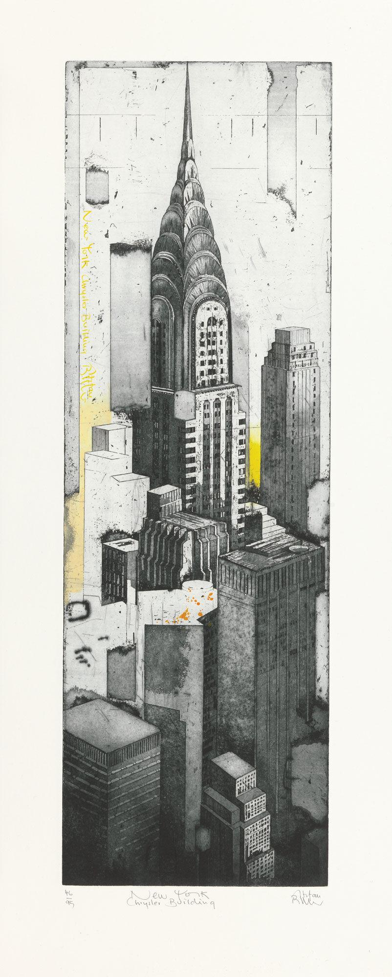 stefan becker bild new york chrysler building 2014 artes. Black Bedroom Furniture Sets. Home Design Ideas