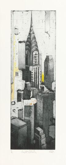"""Stefan Becker: Bild """"New York Chrysler Building"""" (2014)"""