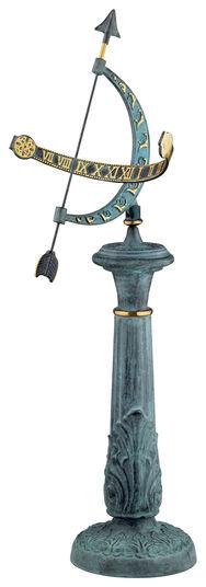 "Sundial ""Languedoc"", bronze"