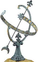 """Sonnenuhr """"Versailles"""", Bronze"""