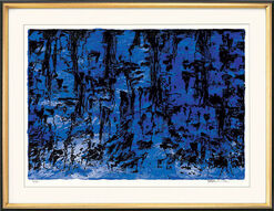 "Picture ""Nature inspiration (blue)"", 2003"