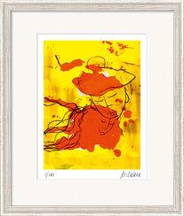 """Bild """"Liebende (nach Marc Chagall)"""" (2015), gerahmt"""