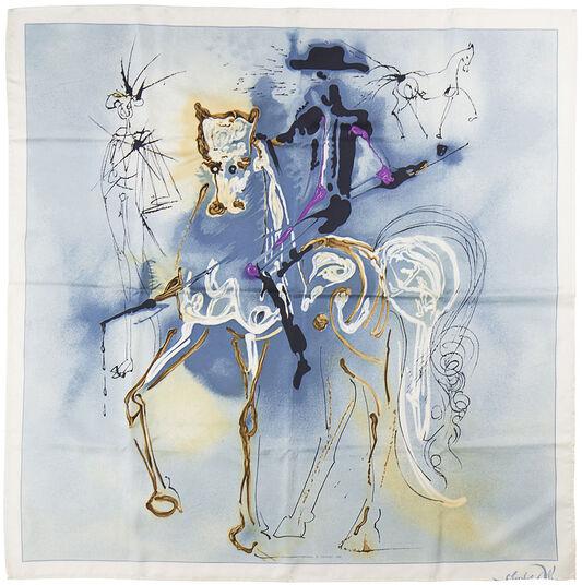 """Salvador Dalí: Seidentuch """"Le Picador"""""""