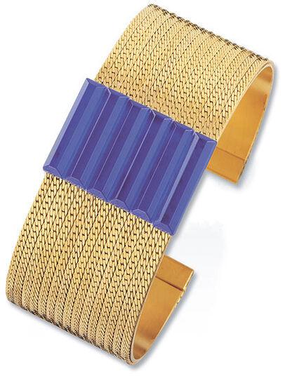 Petra Waszak: Bracelet 'Blue Dream'
