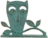 "Animal Sculpture ""Owl"", Bronze"