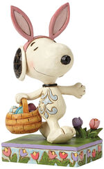 """Sculpture """"Ostersnoopy"""", Artificial Casting"""