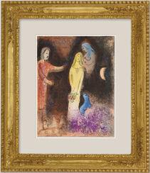 """Bild """"Chloe wird von Klearista geschmückt"""" (1961)"""