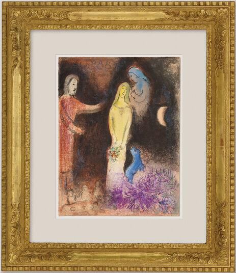"""Marc Chagall: Bild """"Chloe wird von Klearista geschmückt"""" (1961)"""