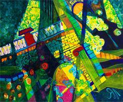 """Bild """"Castillo"""" (2006) (Original / Unikat), ungerahmt"""