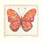"Bild ""Papillon"" (2005), gerahmt"