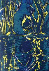 """Bild """"Spiegelwasser 1"""" (2012)"""