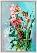 "Bild ""Flowertower"" (2016) (Unikat)"