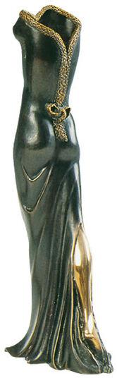 """Gilbert Kruft: Vase """"La Veste di Venere"""", Bronze"""