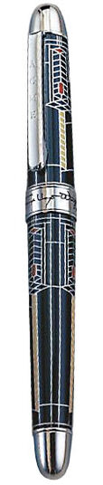 "Frank Lloyd Wright: Künstler-Tintenroller ""Robie House"""