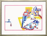 """Bild """"Tod eines Handlungsreisenden"""" (1968), gerahmt"""