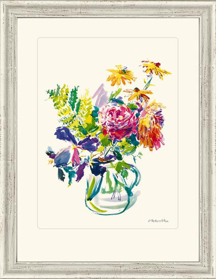 """Picture """"Summer Flowers in Glass Jar"""", 1970"""