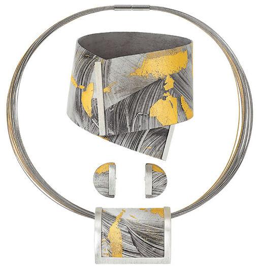 Kreuchauff-Design: Jewelry set 'Lumière'
