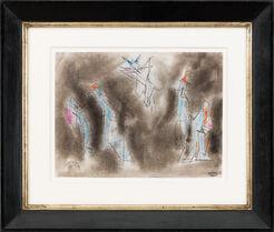 """Bild """"7 Manikins"""" (1954) (Unikat)"""