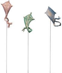 """""""Drachen-Windballett"""" (Version ohne Sockel)"""