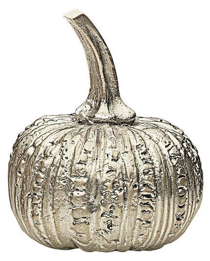 """Silver deco Fruchtchen """"pumpkin"""", bronze edition"""