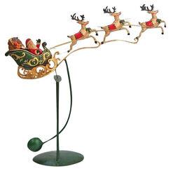 """Balancefigur """"Santa im Schlitten"""", Eisen"""