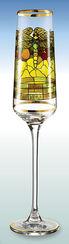 "Champagnerkelch ""Libelle"" - nach Louis C. Tiffany"