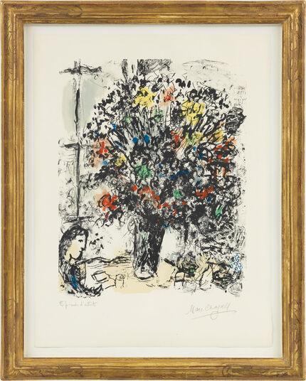 """Marc Chagall: Bild """"Lecture"""" (1973)"""