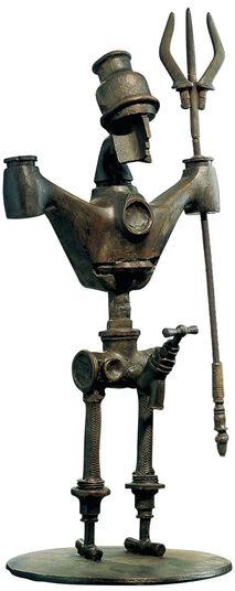 """Meta Morfosi: Zodiac object """"Aquarius"""" - of everyday objects"""