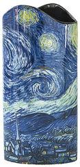 """Porzellanvase """"Sternennacht über der Rhône"""""""