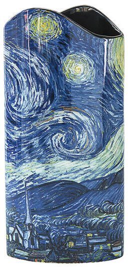 """Vincent van Gogh: Porzellanvase """"Sternennacht über der Rhône"""""""