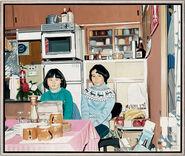 "Bild ""Kyoto coffee break"" (2010) (Unikat)"
