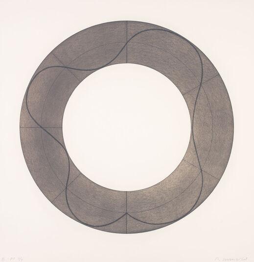 "Robert Mangold: Bild ""Ring Image B"" (2008)"
