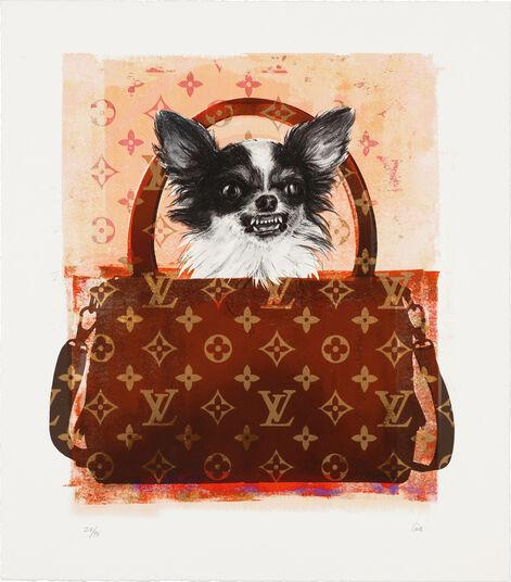 "Shannan Gia: Bild ""Louis Vitton Dog"" (2014)"