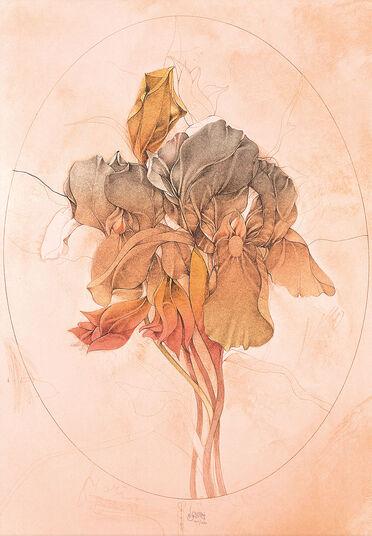 """Bruno Bruni: Picture """"Viola tri colour"""""""