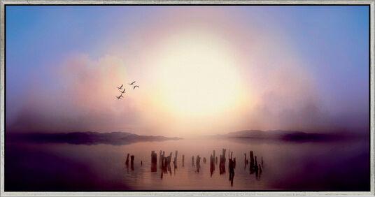 """Ule W. Ritgen: Bild """"Dawn"""" (2008), gerahmt"""