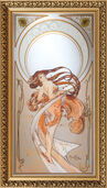 "Wall mirror ""The Dance"" (1898)"