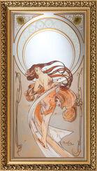 """Wandspiegel """"Der Tanz"""" (1898)"""