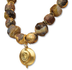 "Necklace ""Golden Buddha"""