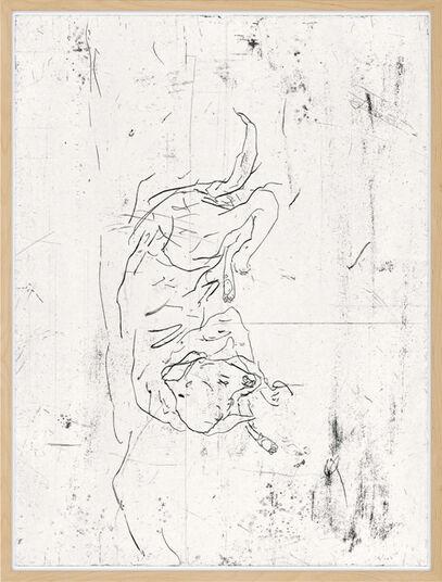 """Georg Baselitz: Bild """"Astor"""" (1999)"""