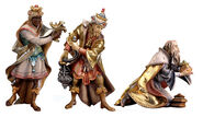 Nativity figurines 'Holy Three Kings', hand-painted