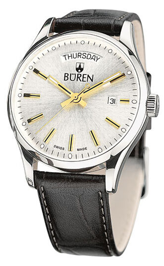 BÜREN Edition 1962 Day Date, bicolor