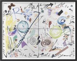"""Bild """"Salü Richard"""" (1988), gerahmt"""