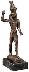 """Replica """"Horus as Avenger"""", metal casting"""