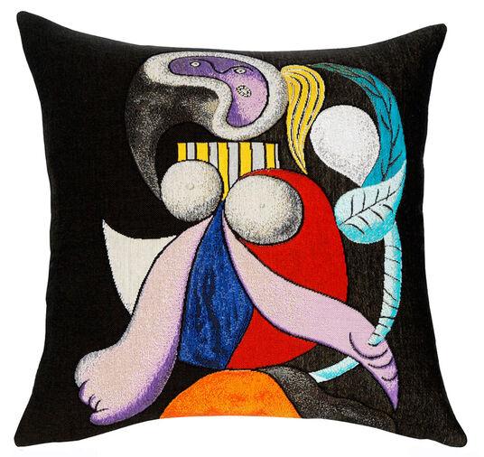 """Pablo Picasso: Kissenhülle """"Femme à la Fleur"""""""