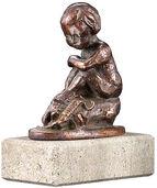 "Zodiac sculpture ""Scorpio"", metal casting"