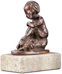 """Sternzeichen-Skulptur """"Skorpion"""" (24.10.-22.11.), Metallguss"""