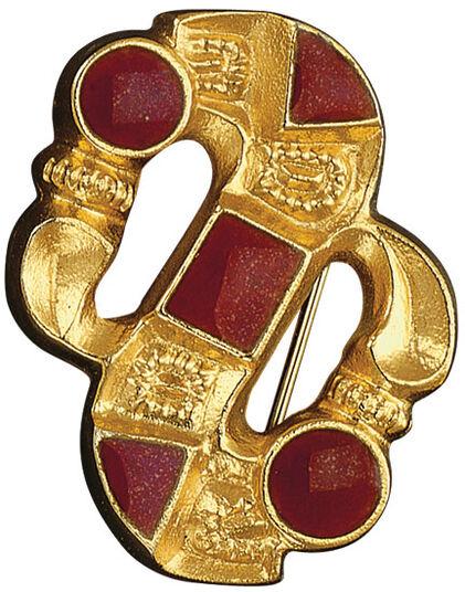 Merovingian S-fibula
