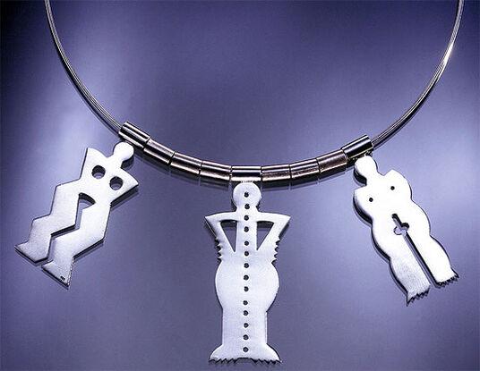 """Bernhard Jäger: Necklace """"One two Three"""""""